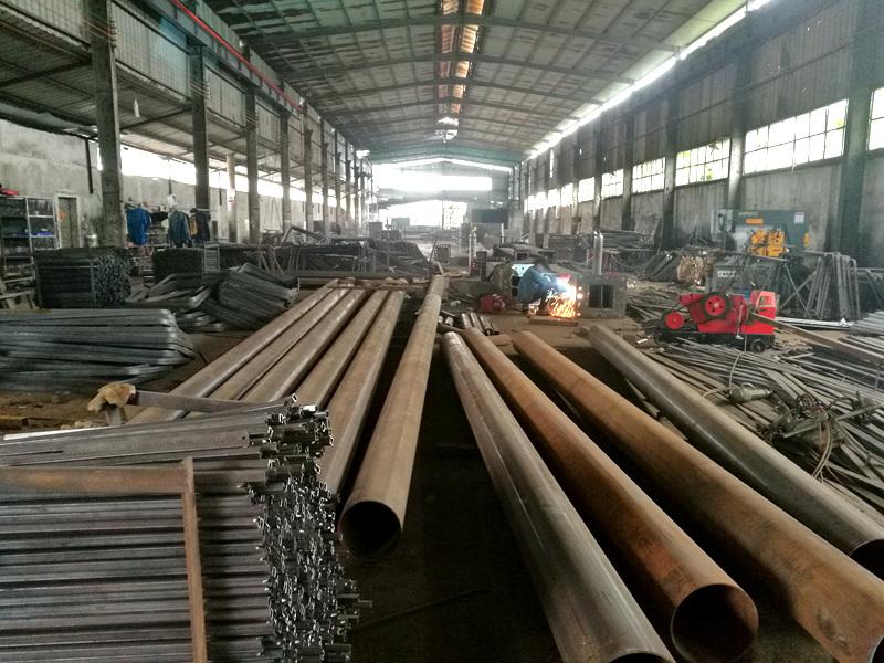 钢结构生产车间