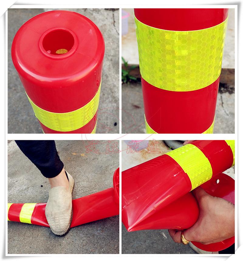 柔性弹力柱 塑料警示柱