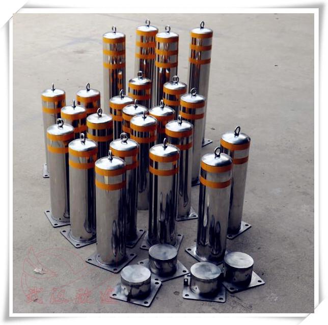 不锈钢防护桩 金属警示柱